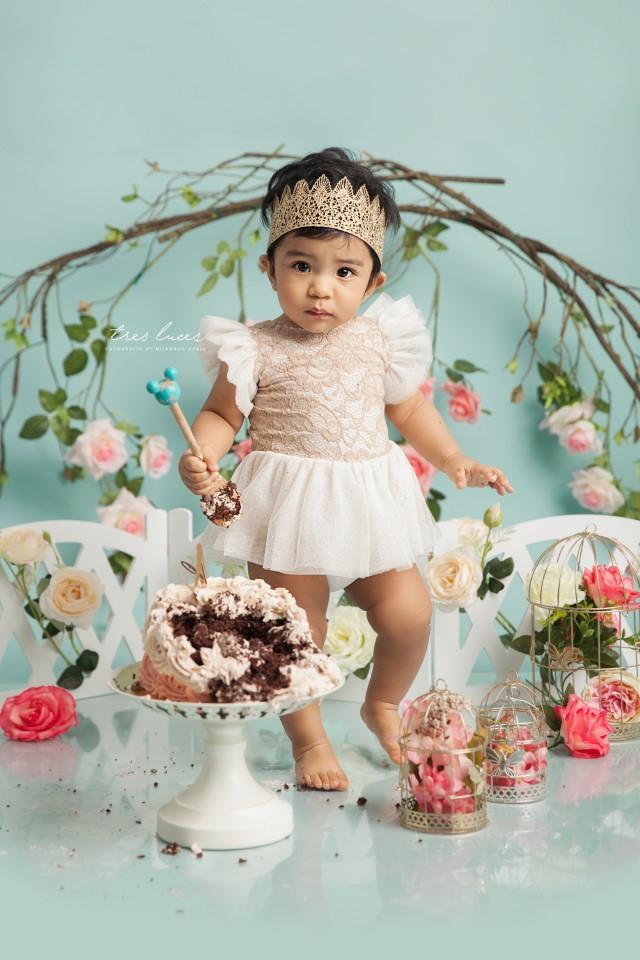 smash cake nina