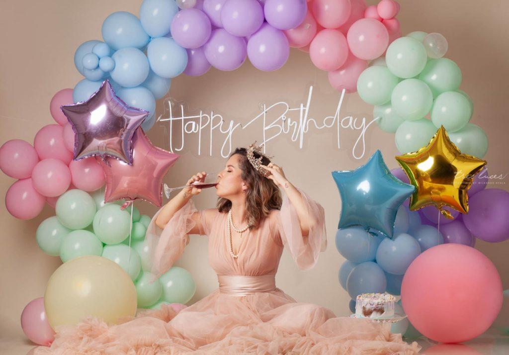 sesiones de fotos cumpleaños para mujeres