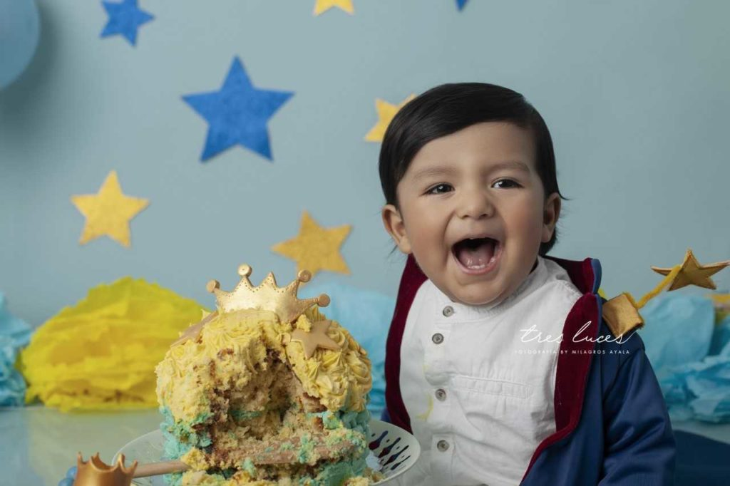 fotografia smash the cake
